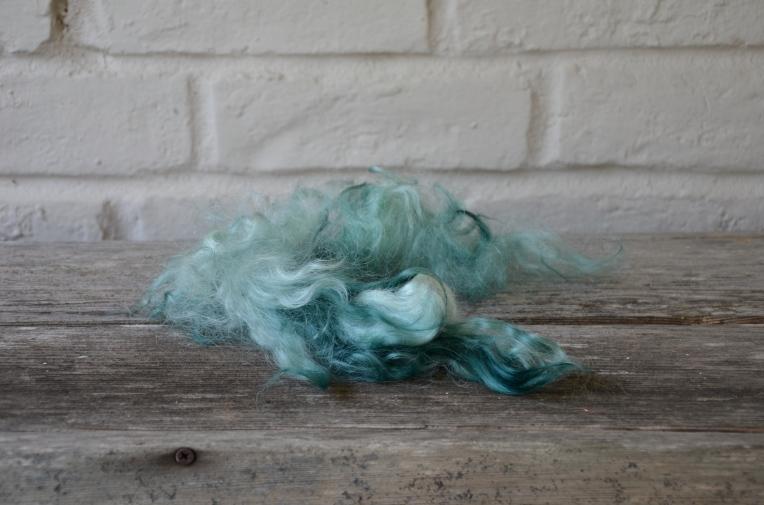 Ozark Handspun - teal wool