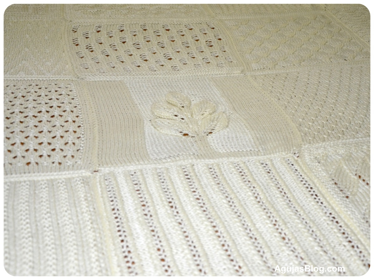 Knitting Pattern Sampler Afghan : How I Learned to Knit   Agujas