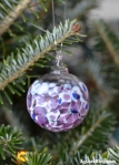 Glass Christmas Ornament 3