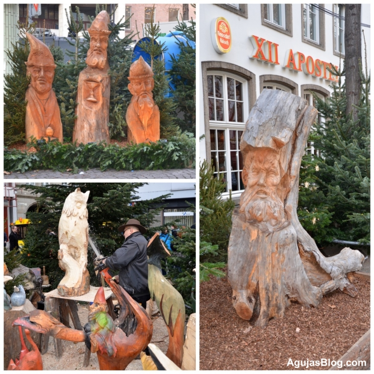 Köln Tree Statues - Collage