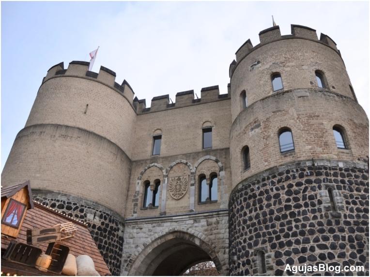 Medieval City Gate, Köln, Germany