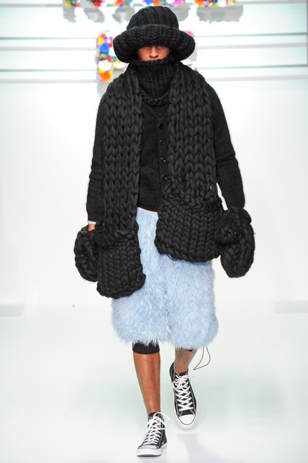 SIBLING Fall 2013 Thick Knit Scarf