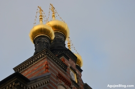 Alexander Nevsky Church, the only Russian Orthodox Church in Copenhagen.