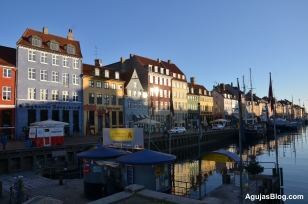 Nyhavn, a 17th century waterfront that catered to maritime businesses. Quintessential Copenhagen.