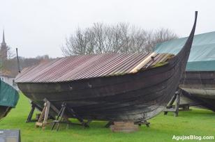 Outside the Viking Ship Museum