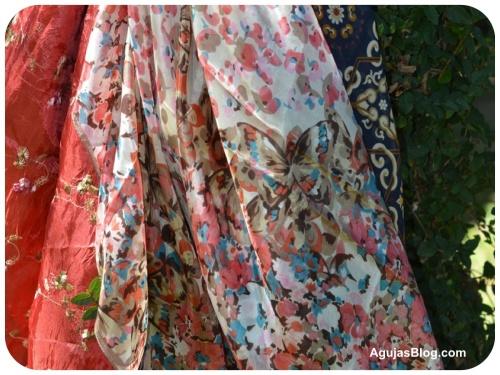 Butterfly Silk Scarf 8