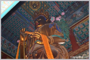 Maitreya in the Pavilion of 10,000 Happinesses - 54 ft. (25 m.) high