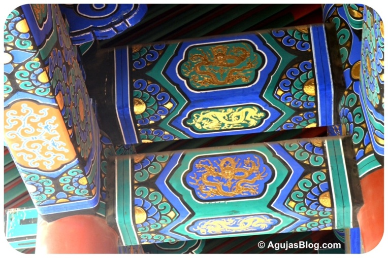 Colorful Beams - Temple of Heaven Park