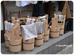 Tokyo - cleaning items at all shrines