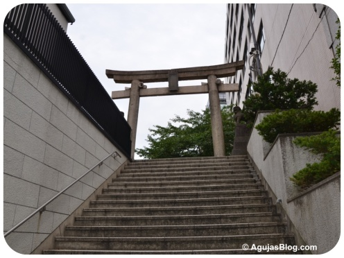 Tokyo - Steps leading up to a Shrine