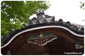 Zenpukuji Temple - roof detail 2
