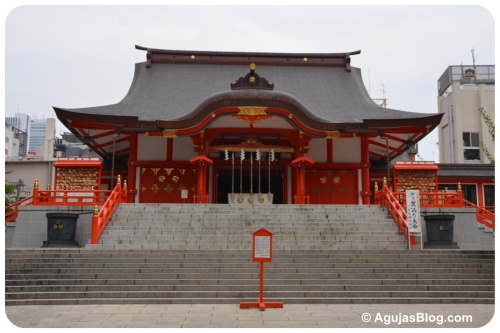 Hanazono Shrine, founded mid-17th century