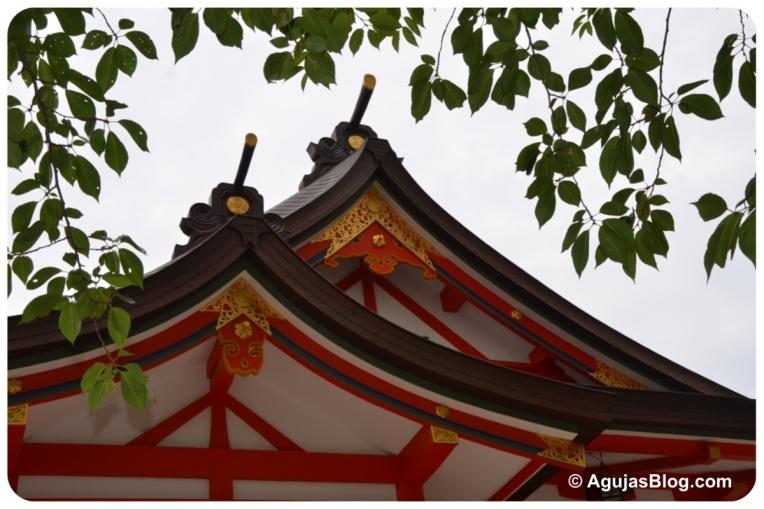 Hanazono Shrine - roof detail