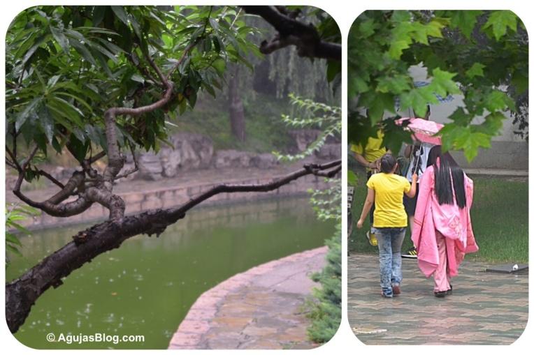 Tuanjiehu Park - Pink Kimono