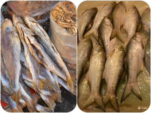 Dried and Fresh Fish
