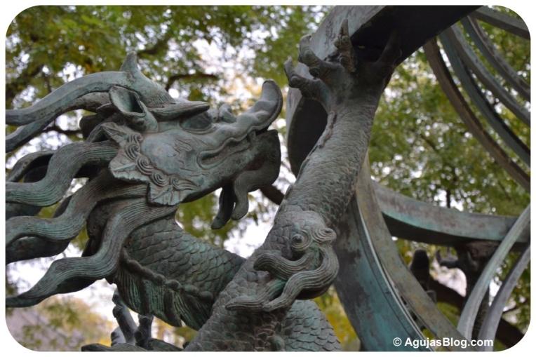 Armilla Sphere Replica - Dragon Detail (facing right)