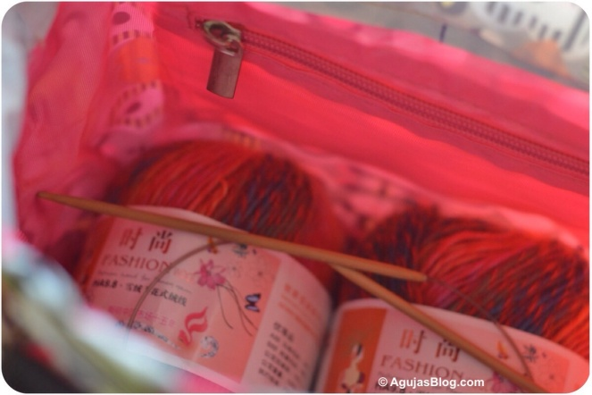 China Knitting Bag Interior