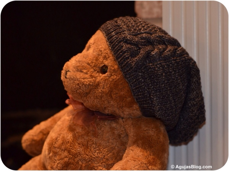Molly Knit Hat Front