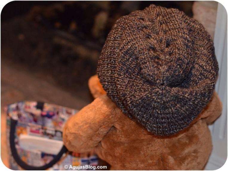 Molly Knit Hat Back