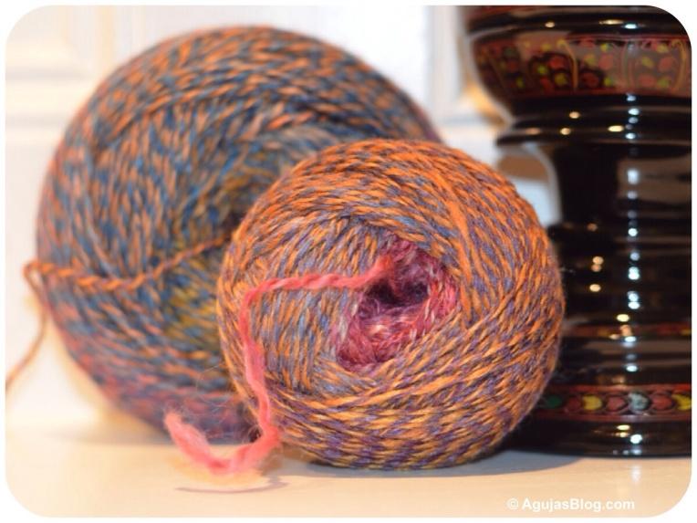Wool/Silk Handspun 1