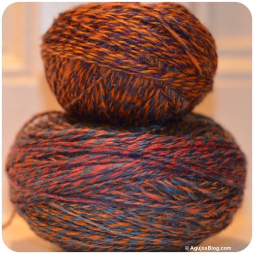 Wool/Silk Handspun 2