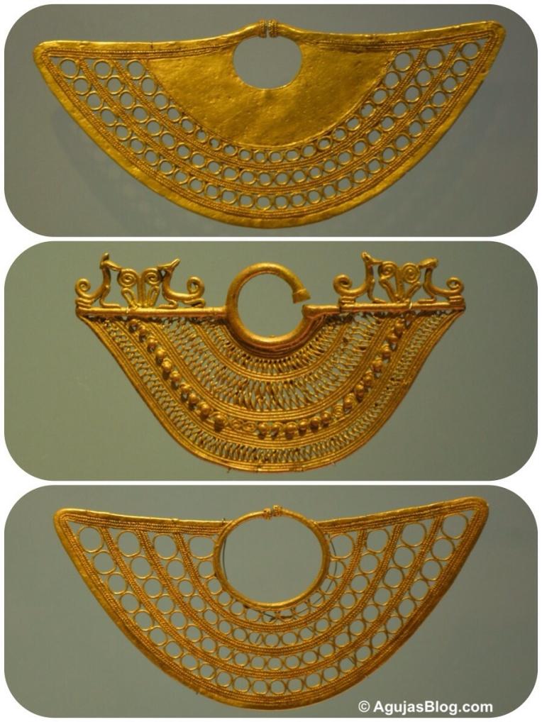 Museo de Oro - Filigree Earring Detail