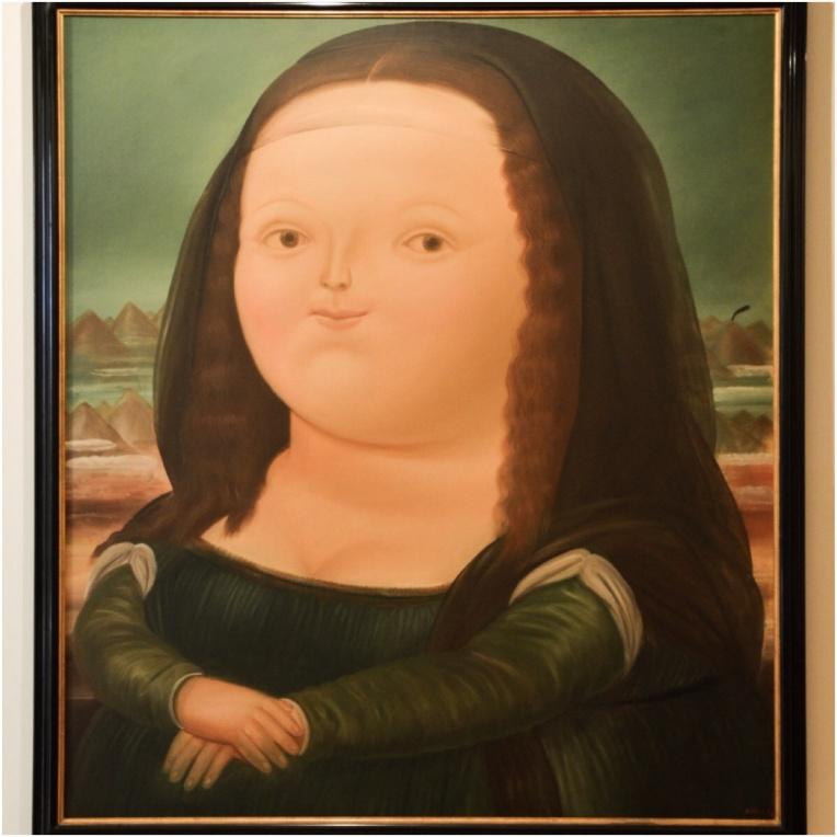 Museo Botero - Monalisa