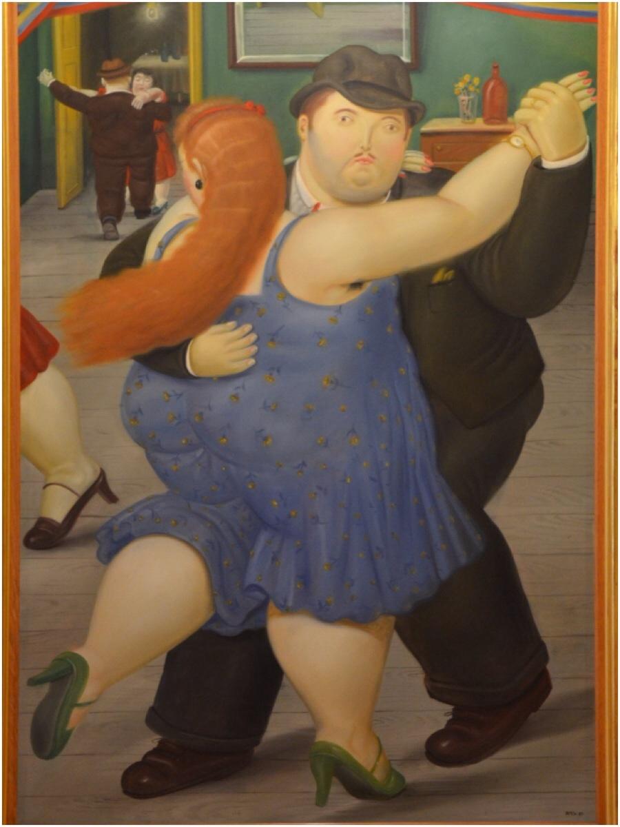 Datura mordmardok pareja bailando 1987 museo - Fotos de botero ...