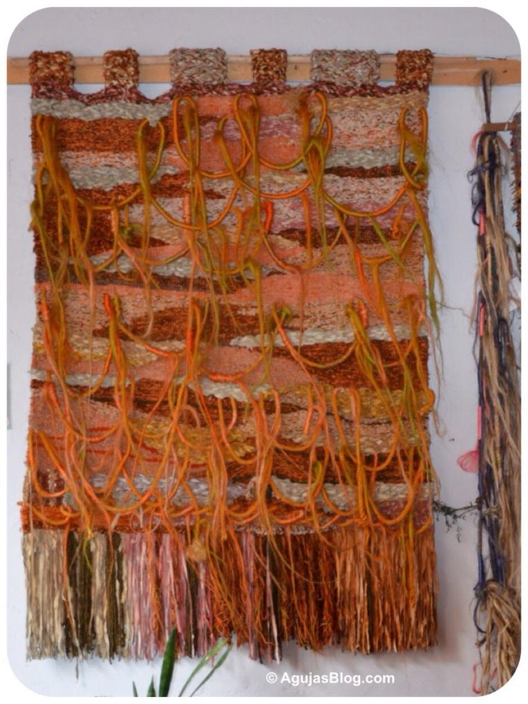 Casa Rosada - Tapiz en fique y cueros