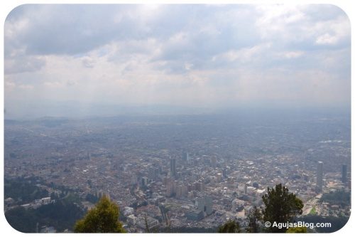Bogotá from Monserrate Peak