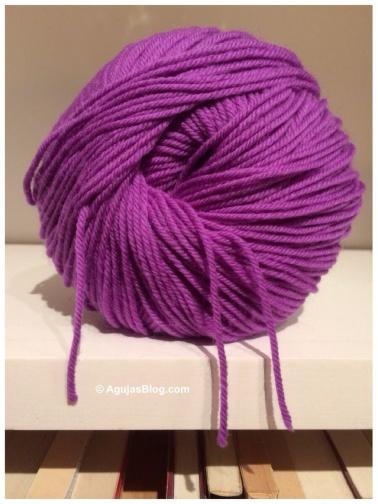 Purple Moth Yarn