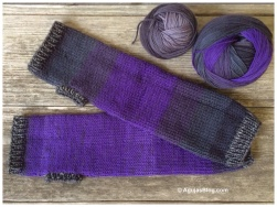 July - Purple Handwarmers