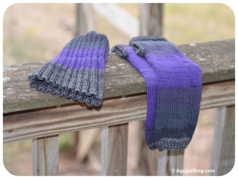 Zitrón Purple Hat & Hand Warmers