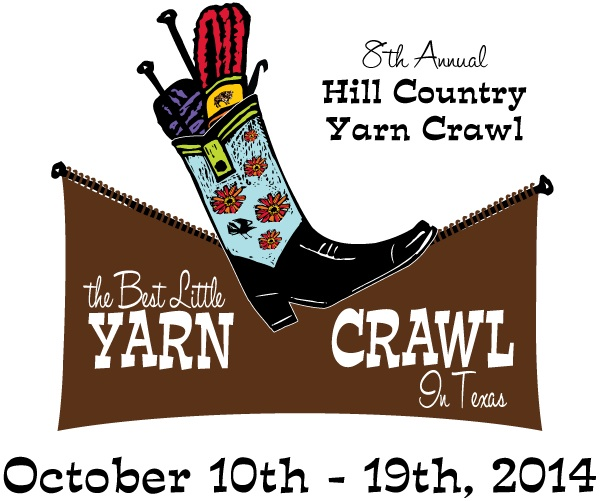 2014 Hill Country Yarn Crawl Logo