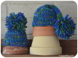 September - Chunky Newborn Hats