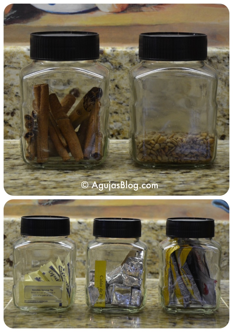 Recycled Jars - Spices