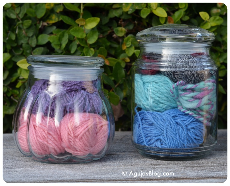 Recycled Jars - Yarn 1