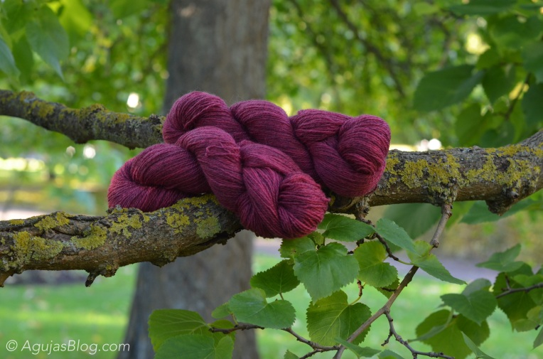 Botanical Gardens - Yllet Yarn Close-up