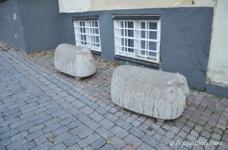Sheep Statues in Visby 1