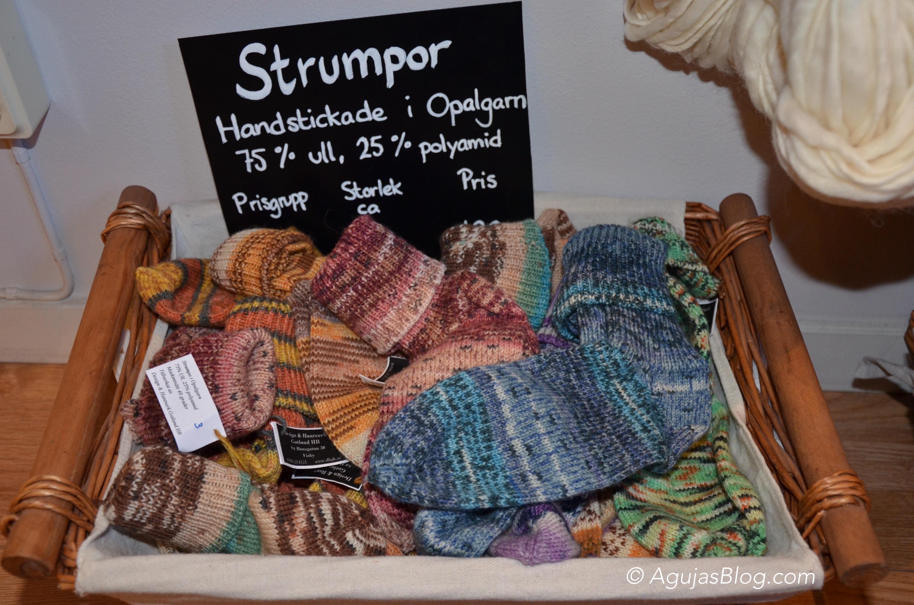 Design & Hantverk Gotland - Knitted Socks