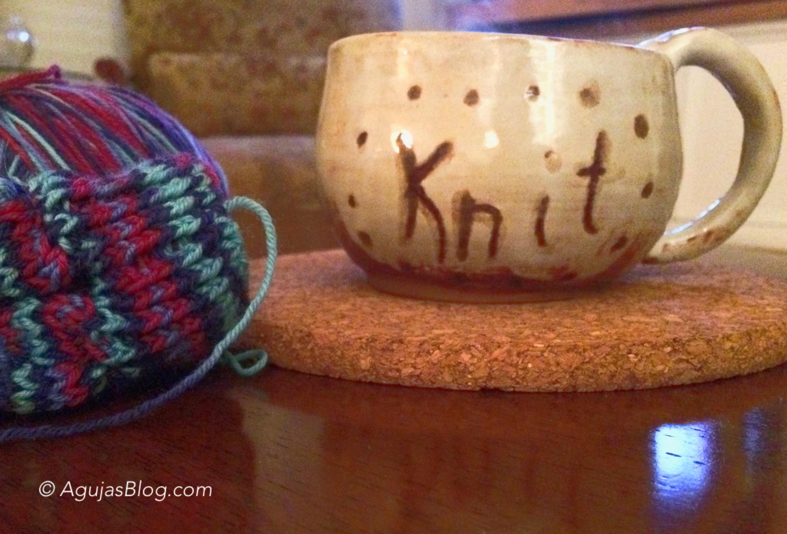 Knit Coffee Mug