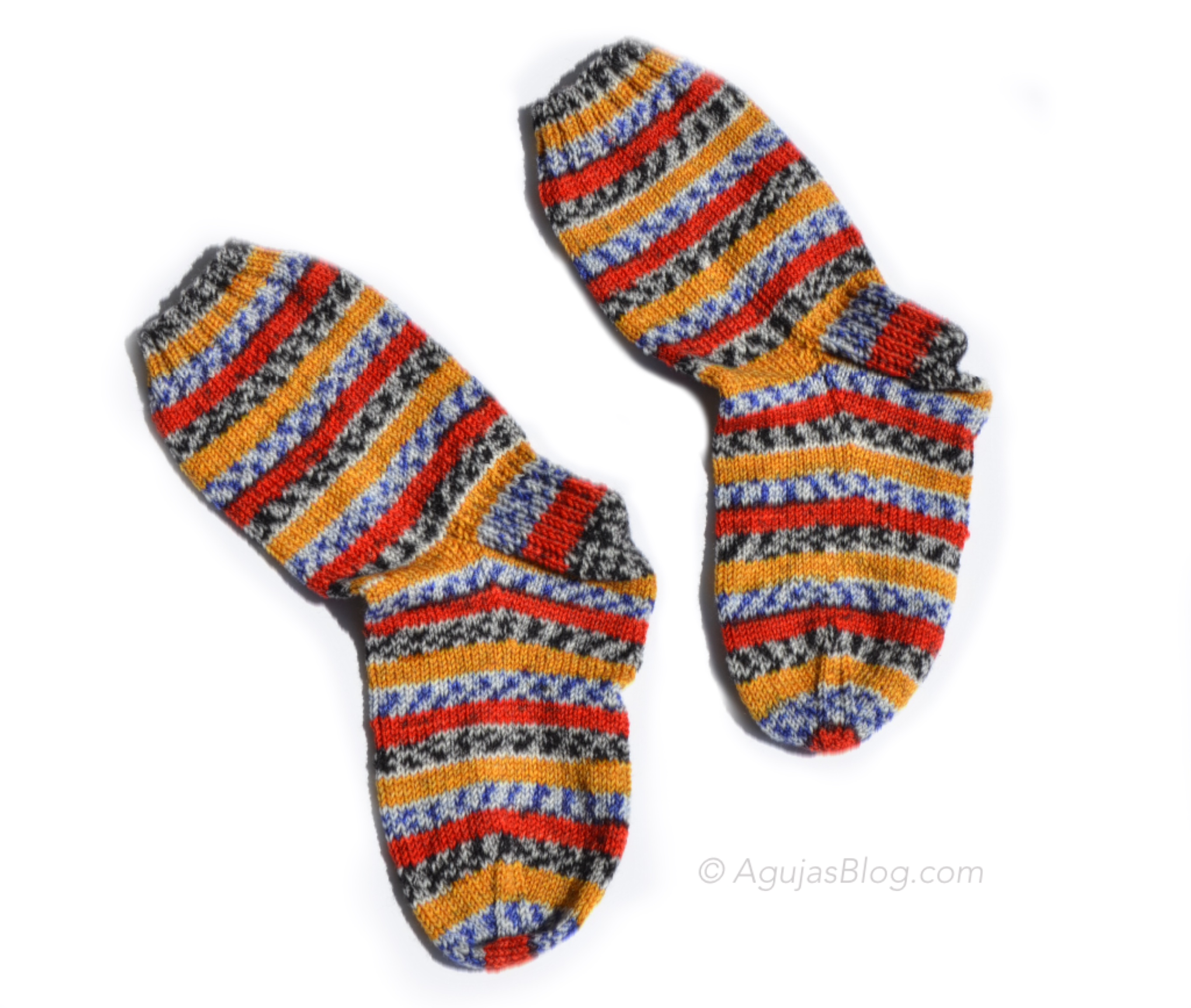 Crazy For Knitted Socks Agujas