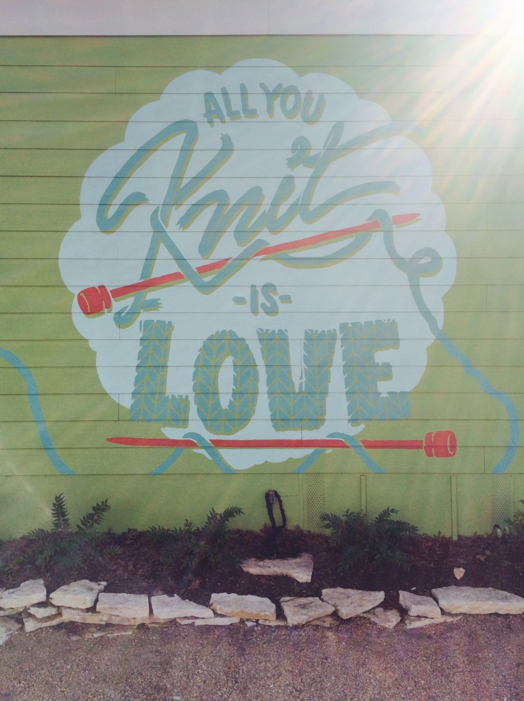 All You Knit is Love - Hill Country Weavers