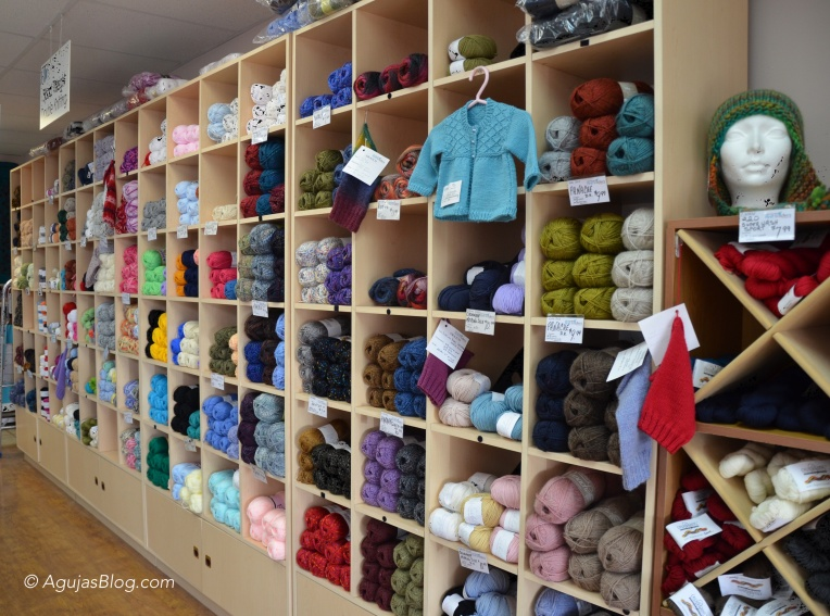 Knit Traders - Wall of Yarn