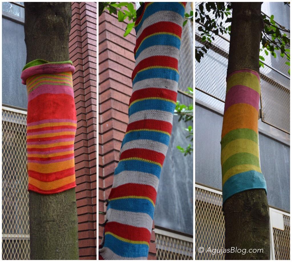 Yarn Bombing - PS 87