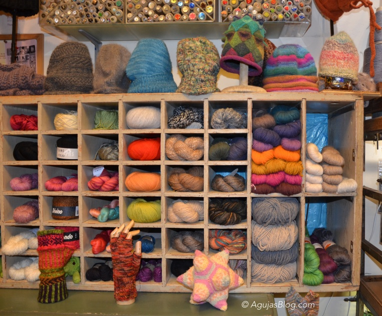 Downtown Yarns - Cubbies of Yarn