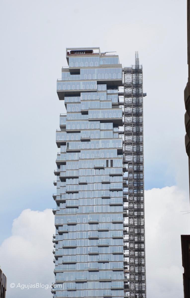 """Jenga"" Building"
