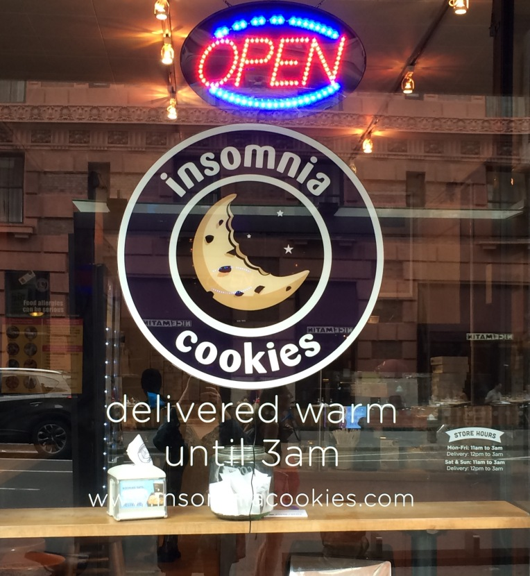 Insomnia Cookies - Window