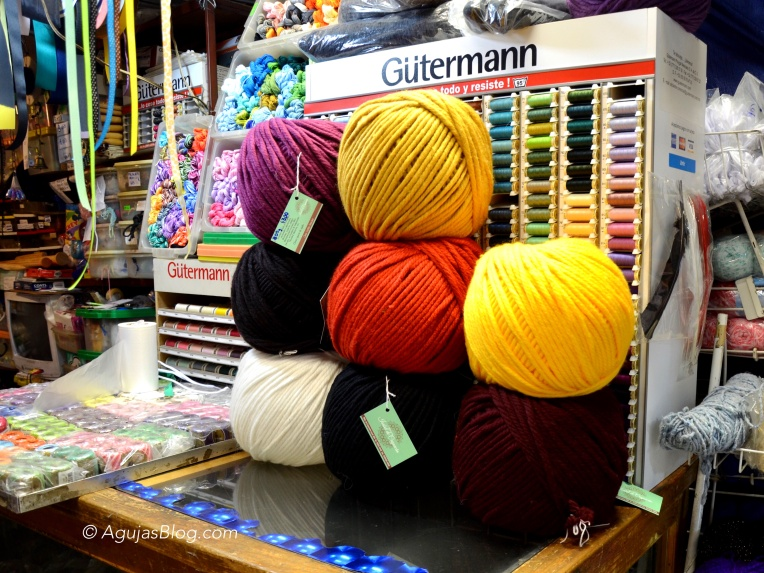 Yarn Sighting 1 at Mercado de Coyoacan