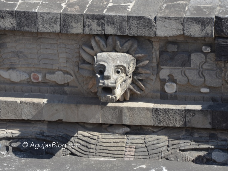 Temple of the Feathered Serpent - Close up
